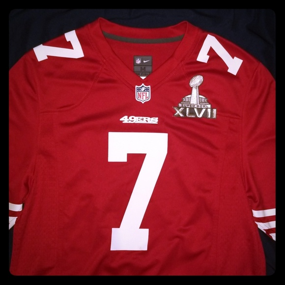 new concept ed3ed a6200 SF 49ers Colin Kaepernick On Field Jersey